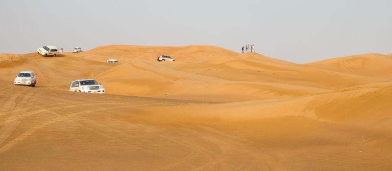 Mit dem SUV durch die Wüste