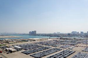Dubais Hafen - wenn es mal nicht regnet