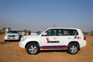 Unser Auto für die Wüstensafari