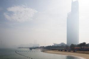 Etwas Neblig in Abu Dhabi