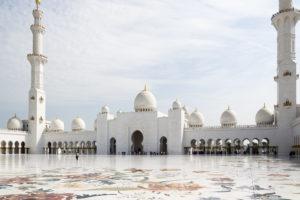 Scheich-Zayid-Moschee - der Innenhof