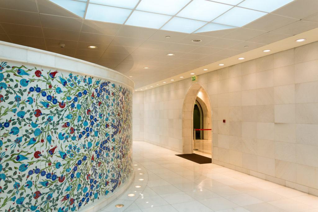 Toiletten in der Scheich-Zayid-Moschee