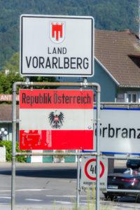 Es geht nach Österreich - Die Grenze ist offen, von Lindau nach Hörbranz