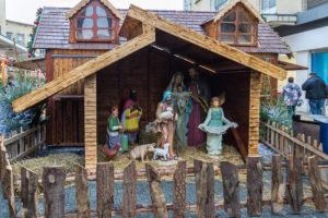 Weihnachtsmark in Bristol - Weihnachtsgrippe