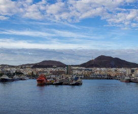 Start der Kanaren Kreuzfahrt in Las Palmas de Gran Canaria