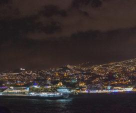 Silvester mit der Mein Schiff 1 vor Madeira
