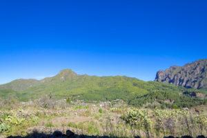 Blick vom Besucherzentrum Parc Nacional de la Caldera de Taburiente