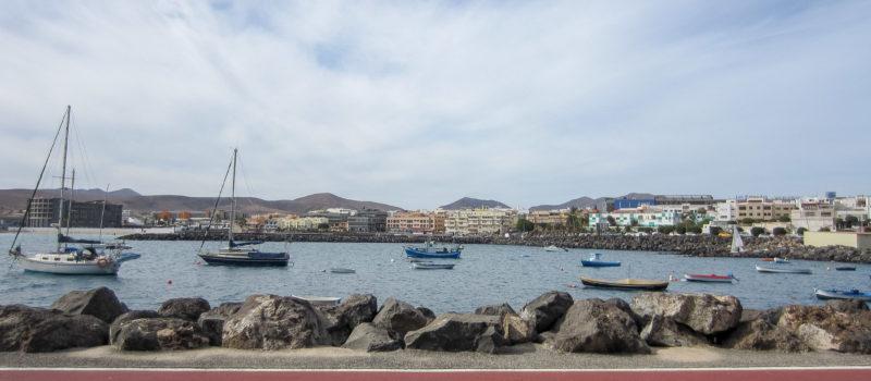 Fuerteventura - Hafen von Puerto del Rosario